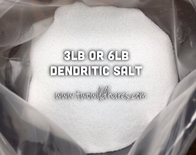 DENDRITIC Salt, Fine Grain