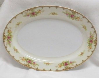 "Royal Embassy China ""Lincoln""  Pattern  Oval Platter"
