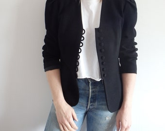 Blazer Womens Vintage Black