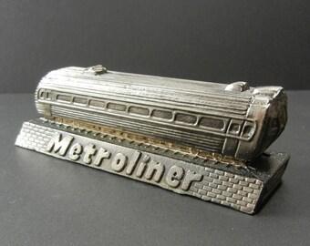 Penn Central Metroliner Souvenir Paperweight - Penn Central Railroad