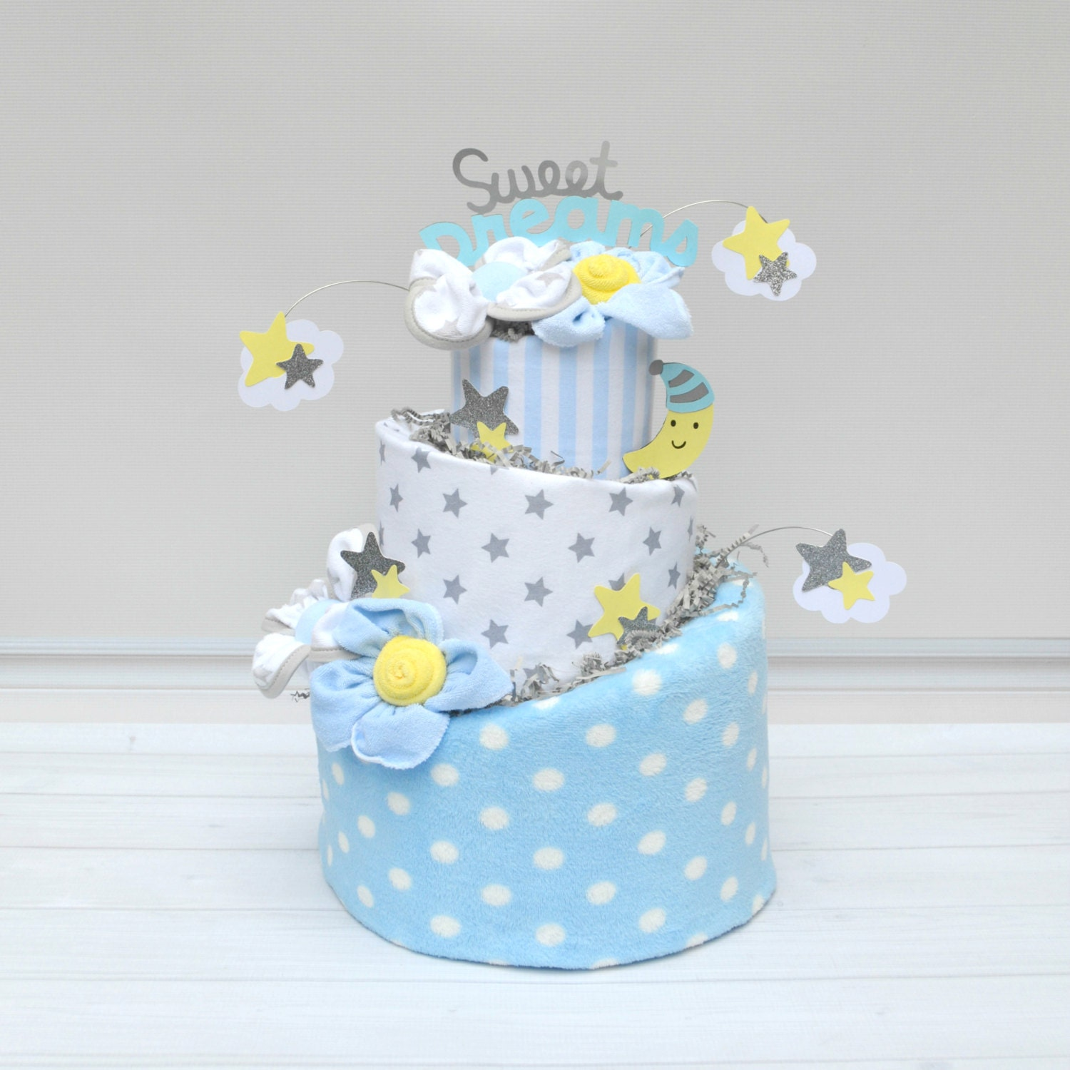 Twinkle Twinkle Little Star Baby Shower Stars and Moon Baby