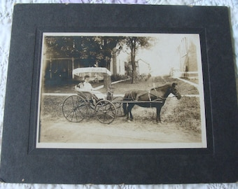 Vintage Photo ~ Going out for a Ride