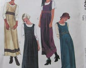 McCalls 9467, Uncut Sewing Pattern, Misses Pullover Jumper, Size 4-14, 1998