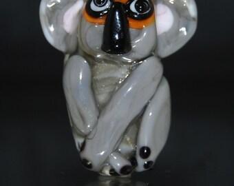 Koala lamwork bead