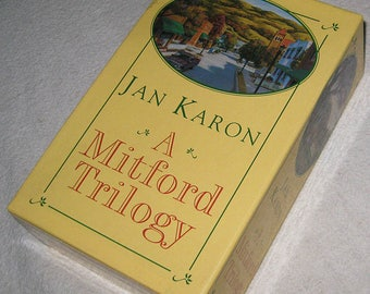 A MITFORD TRILOGY Jan Karon Book Set