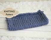 Knit Pattern, Blanket Knit Pattern, Photo Prop Layer Blanket