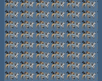 "Great Dane ""Colors"" Plush fleece blanket"