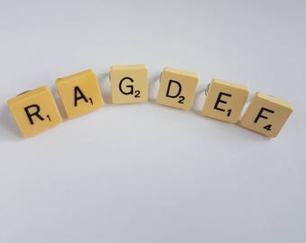 Scrabble Letter  Ring - Scrabble Jewellery