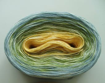 NEW SUNRISE MEDLEY  Color Changing Cotton yarn  480 yards/100 gr  Fingering Weight
