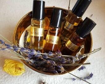 Triple Vetiver Botanical Perfume Oil. 5 ML