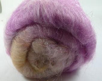 Fleegle's Hair 60/40 Merino/ Silk, Angelina, and Firestar, 2.3 oz (SKU4)