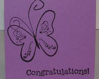 Congratulations Mini Note Cards (Set of 5)