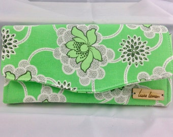 Fabric Cell Phone Wallet, Clutch Wallet, Fabric Wallet