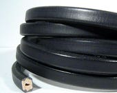 25% Off Spring Sale Black Wire Core Leather - WC23 - Choose Your Length