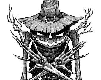 The Summoner Original Halloween Drawing