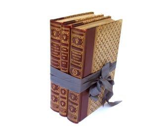 The House of Seven Gables By Hawthorne, Vintage Greek Art Book, Vintage Pocket Dictionary, Collectors Edition Book Stack, Vintage Book Decor