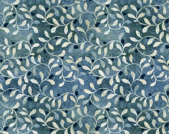 Contempo by Benartex - Twilight - Divine - Navy - Fabric by the Yard 4484B-50
