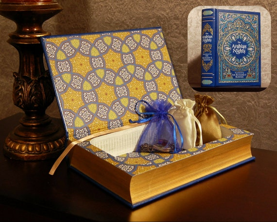 Hollow Book Safe (The Arabian Nights Leatherbound)