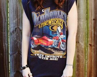 Vintage 1988 Harley Davidson Muscle Shirt- Size Large