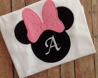 Minnie Mouse Disney Shirt,Minnie Mouse Shirt,Minnie Birthday,Girls' Clothing,Girls Disney Shirt,Girls Disney Clothing,First Disney Trip,