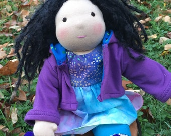 Wadorf Doll 13 Inch Waldorf Inspired Noble Doll Thea