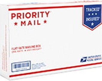Upgrade to US or International Priority Mail and Priority Express Mail