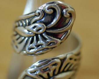 Mexican Silver Ring Bypass Butterflies