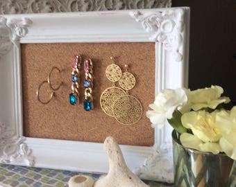 Victorian Earring Holder Display for Stud Earrings (Item Number BL 125)