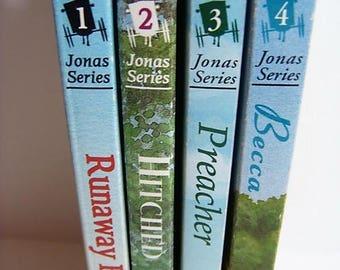 Jonas Series - 4 Books - Preacher Becca Runaway Buggy Hitched Carol Duerkesen Maynard Knepp