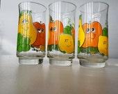 Nancy Lynn Fruit 16 ounce Drinking Glasses