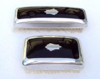 Men's Hair Brush Set, Deco, Vintage