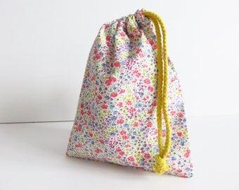 Liberty Lawn 'Phoebe P' Small Drawstring Bag
