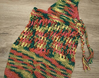 Crochet market bag variegated *Ready to Ship*