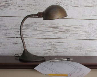 vintage desk Lamp - industrial decor