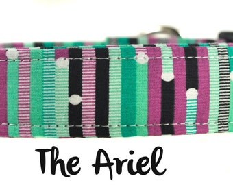 The Ariel - Multicolored Dog Collar