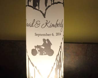 Wedding Table Decor bike life  Wedding Luminaries,  Wedding, Wedding Centerpieces- set of 10 Luminaries  Fairytale Decor Luminary,
