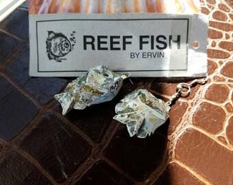 Reef Fish earrings by Wayne Ervin