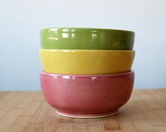 MADE TO ORDER: Make it a set! Cereal bowl to match custom made mug