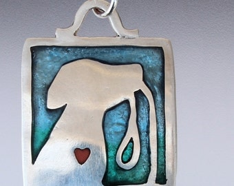 Walk Time silver and resin pendant - dog jewelry - dog lover necklace - dog walk - dog and leash - resin - dogs - dog pendant