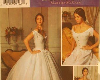 5726 Simplicity Undergarments Pattern Fashion Historian Martha McCain Uncut Size RR 14, 16, 18, 20
