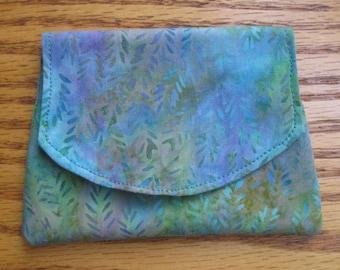Colors Under the Sea Small Batik Wallet