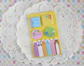 Memo Pad - Sticky Note - Post It - Bookmarker - Planner - Diary Planner - Bookmark - Ready to ship