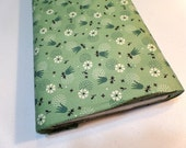 Fabric Yardage - Quilting Weight Cotton - Denyse Schmidt - Eastham - Tulip Burst - Juniper - DSQuilts - Green Floral