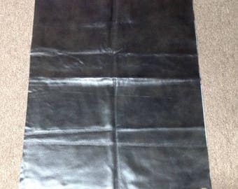SW642.  Graphite Leather Cowhide Partial