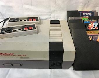 Old School Nintendo w games