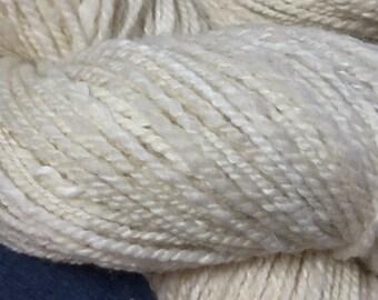 Angora & Wool blend Handspun Luxury Yarn