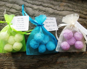 30 Seed Bomb Favors WITH personalized tag