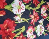 """Custom Listing for Suzanne--Amaryllis Table Runner 13"""" by 54"""""""