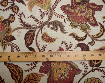 Chantel Sienna Golding Fabric