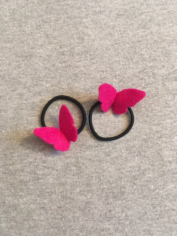 Butterfly Ponytail Holders